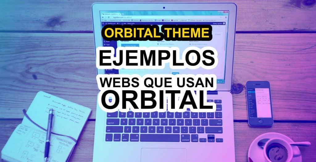 ejemplos de web que usan orbital theme dofollow